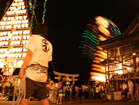 船型萬燈祭